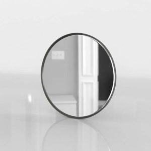 3D Mirror C&B Edge Gunmetal Round