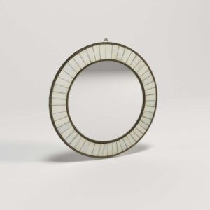 3D Mirror CB2 Bone Inlay Round