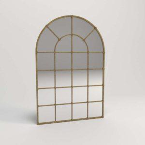3D Mirror AshleyFurniture Oengus Golden