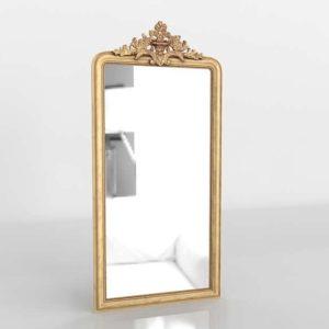 3D Mirror RestorationHardware Louis Phillipe