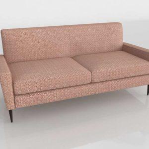 Sofá 3D C&B Torino Scarlet