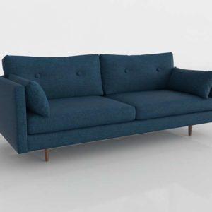 3D Sofa Article Anton Twilight