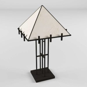 3D Table Lamp GE Model 02