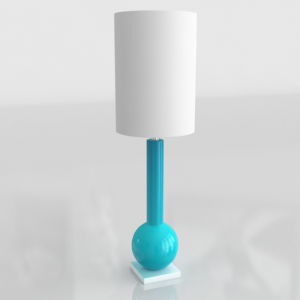 3D Table Lamp GE Model 03