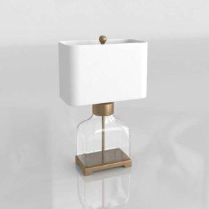 3D Table Lamp GE Model 07
