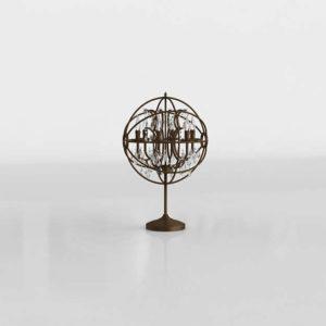 3D Table Lamp GE Model 08