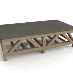 Mesa de Café 3D RevCascade Stone