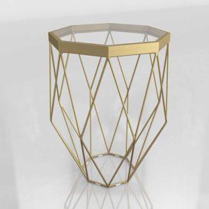Mesa Auxiliar 3D Wayfair Albiero