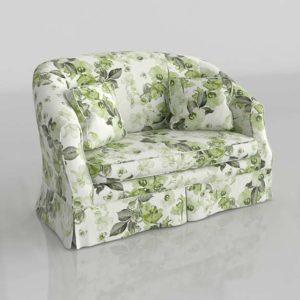 Sofa 3D Modelo 0787