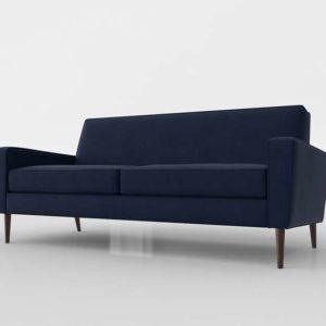 Sofá 3D Joybird Diseño Winslow Royal