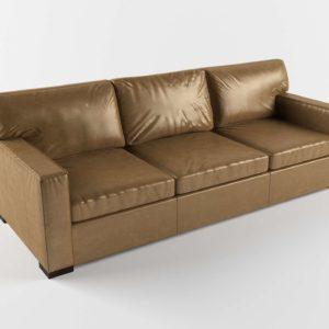 Sofá 3D C&B Axis II Diseño Libby de Piel