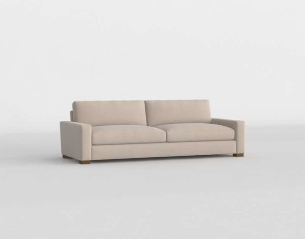 Sofá 3D R&H Maxwell de Tela