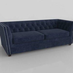 Sofá 3D Interior Modelo 0737