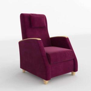Sillón 3D SCC Modern Púrpura