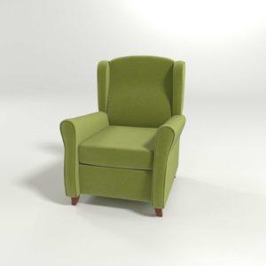 Sillón 3D SCC Natural Verde