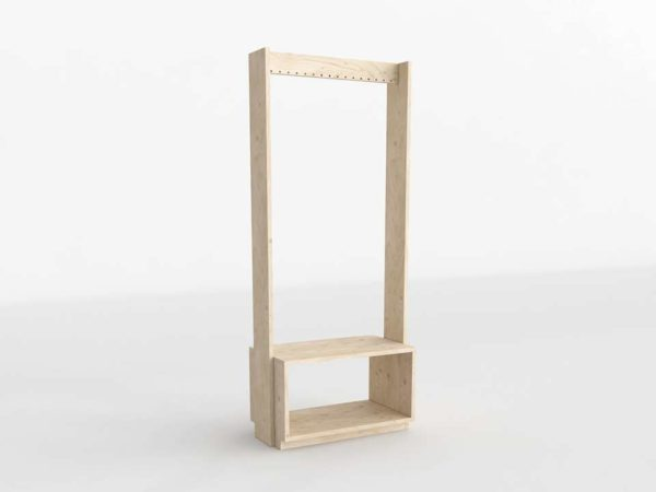 3D Coat Rack MueblesLufe Beka