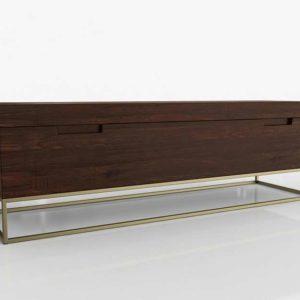 3D Bench AllModern Marx Wood Storage