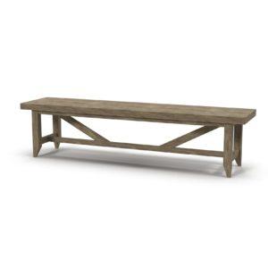 3D Bench Wayfair Upton Wood