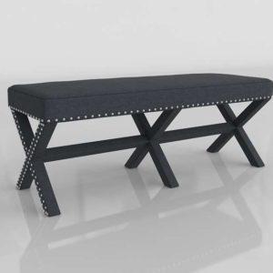 3D Bench AllModern Wynwood