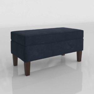 3D Bench AllModern Upholstered