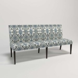 3D Dinning Bench C&B Miles Grand Banquette