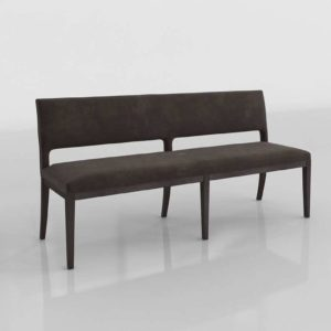 3D Dining Bench PotteryBarn Beale