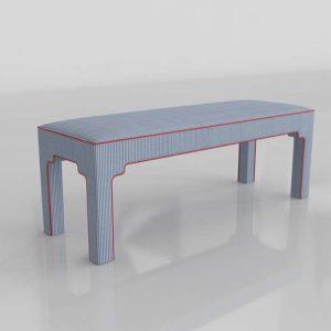 3D Bench BallardDesigns Nala