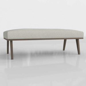 3D Bench C&B Nordic Frost
