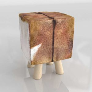 Taburete 3D DecoracionPeyra Texas