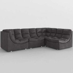 Sofa 3D Seccional ZGallerie Cloud Modular