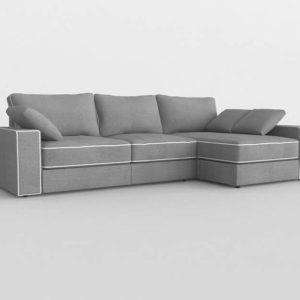 Sofá 3D Seccional DecoracionPeyra Accre