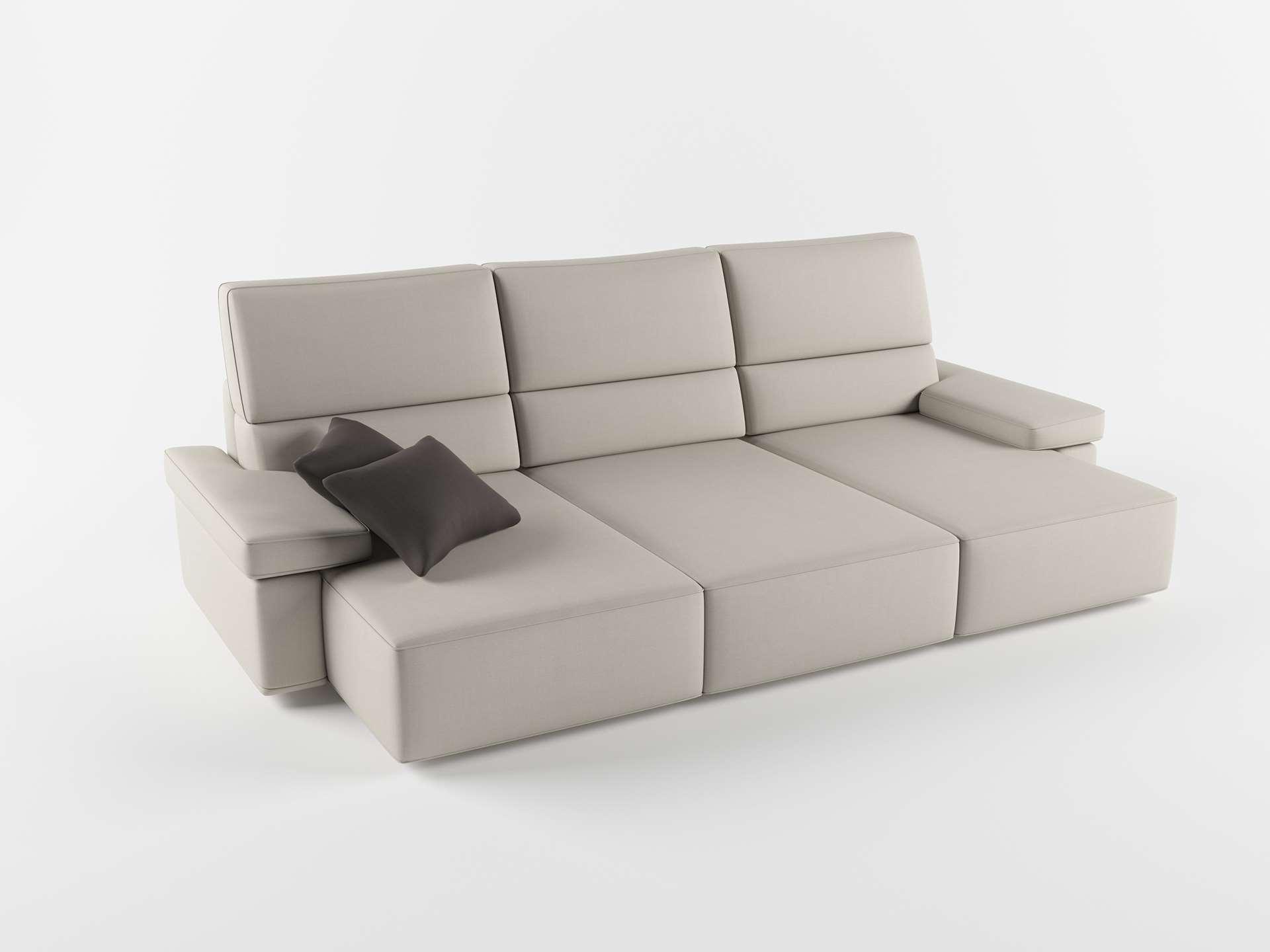 Sofá 3D Seccional FabricaSofas Niza