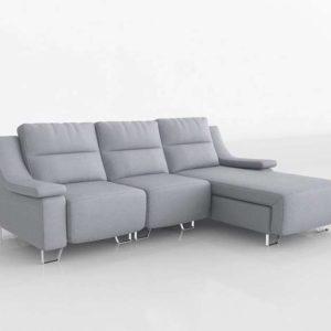 Sofá 3D Seccional FabricaSofas Relax Napoli