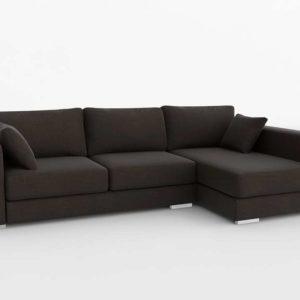 Sofá 3D Seccional FabricaSofas Zambra