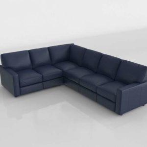 Sofa 3D Seccional GE Modelo 02