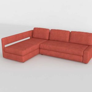 Sofa 3D Seccional GE Modelo 13