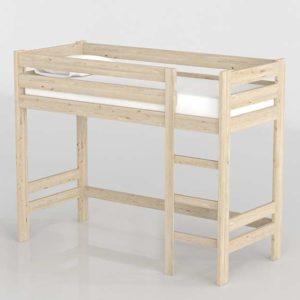 3D Bed MueblesLufe Mezanina Tall Bed