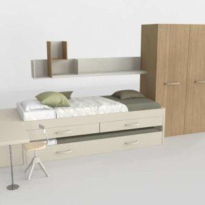 Bedroom Set 3D MueblesRey Lenon
