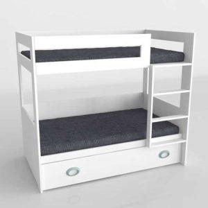 3D Bunk Bed SCC Original with Underbed