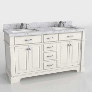 Mueble de Baño 3D Overstock Nova Double