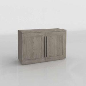 Aparador 3D R&H Machinto Panel