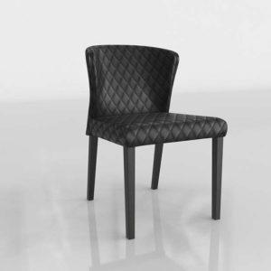 Silla de Comedor 3D C&B Curran Ónix
