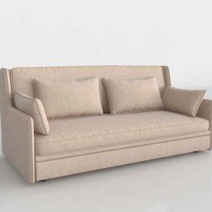 Sofá 3D SCC Sofa Cama Triple