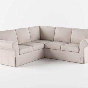Sofá 3D Seccional Rinconero IKEA Ektorp
