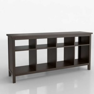 Mueble Consola 3D IKEA Hemnes