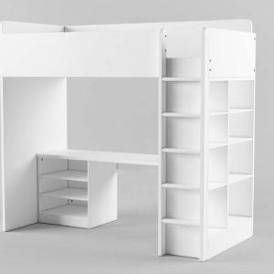 Conjunto Cama y Escritorio 3D IKEA Combo