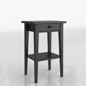 Mesita de Noche 3D IKEA Hemnes