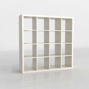 Estantería 3D IKEA Kallax