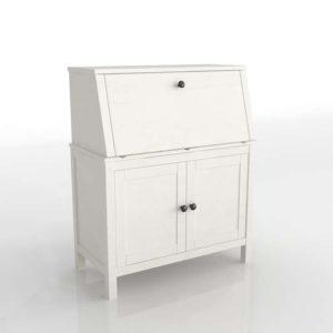 Mueble de Oficina 3D IKEA Secretary