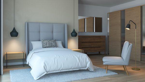 Habitación Estilo Moderno / Set Modelos 3D